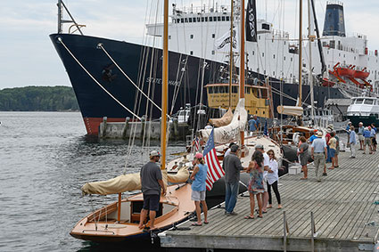 Exhibition at Castine Town Dock